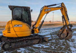 2014 JCB 8065 RTS For Sale In Sciota, Illinois 61475 image 3