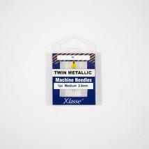 Klasse Twin Metallic 2.0mm/80, 1 Needle-Bundle of 5 - $13.85
