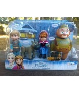 Sealed rare 2016 Walt Disney Frozen Petite Oaken's Trading Post 4 figure... - $59.50