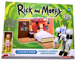 Rick and Morty YOU SHALL NOW CALL ME SNOWBALL McFarlane Toys NEW Buildin... - $19.88