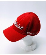 Titleist Golf Hat Pro V1 Footjoy FJ Red White Fitted Men's Cap Large/XL - $18.37
