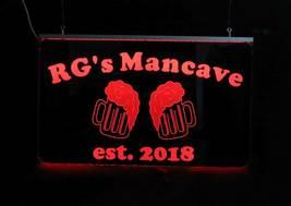 Personalized Beer Mug Bar Sign, Man Cave Sign, Game Room Sign image 8