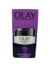OLAY AGE DEFYING CLASSIC EYE GEL. 0.5 oz. Purple Box - $14.84