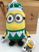 "12"" Minion Golfer Stuffed Toy Doll Despicable Me Nwt Universal Studios - $12.86"