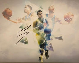 STEPHEN CURRY AUTOGRAPHED HAND SIGNED 11x14 GOLDEN STATE WARRIORS PHOTO... - £147.13 GBP