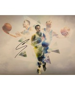 STEPHEN CURRY AUTOGRAPHED HAND SIGNED 11x14 GOLDEN STATE WARRIORS PHOTO... - $179.99