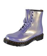 NEW Dr. Doc Martens 1460 OPALINE VEGAN Heather Purple Ankle Boots Shoes ... - $133.65