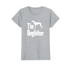 The Dogfather t-shirt Greyhound silhouette funny dog gift - $19.99+
