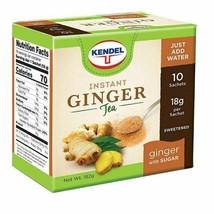 Kendel Instant Ginger Tea Sweetened with Sugar - $11.88