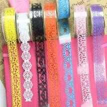 Washi Tape, Windspeed 5 Roll Lace Flower DIY Decorative Masking Sticky A... - $8.90