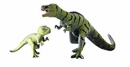 Toy Tron Dino King 2 3D Animation Dinosaur Figures Adult Tarbosaurus and Young T