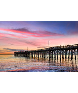 Balboa Pier Sunset at Newport, Fine Art Photos, Paper, Metal, Canvas Prints - $40.00 - $442.00