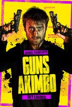 Guns Akimbo Poster Daniel Radcliffe Jason Lei Howden Movie Art Film Prin... - £7.59 GBP+