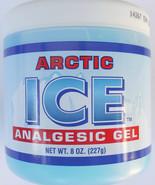 ARCTIC ICE ANALGESIC GEL MENTHOL MUSCLE RUB Pain Relief 8 oz/Jar - $3.46