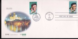 JOHN McCORMACK JOINT ISSUE WITH IRELAND DUAL CANEL 1984 POST CACHET - $7.19