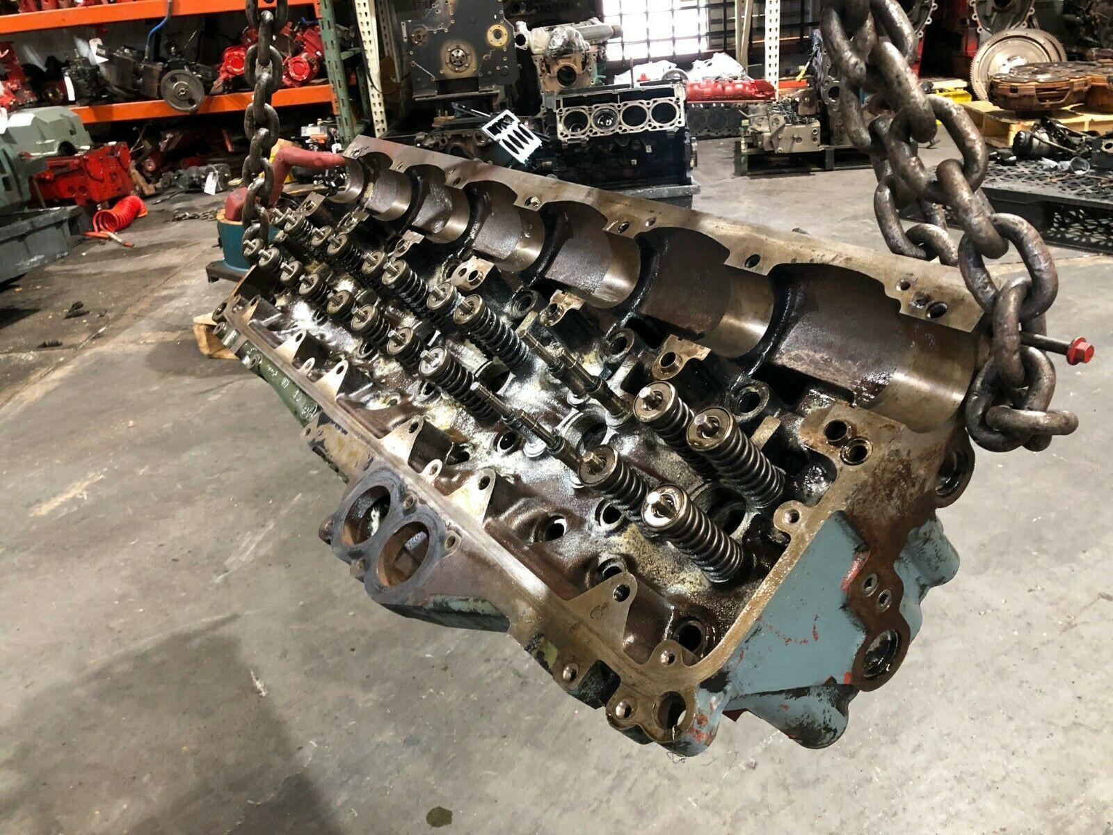 Detroit Series 60 14.0 Liter Diesel Engine Cylinder Head As Is OEM image 5