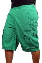 Levi's Men's Premium Cotton Cargo Shorts Original Relaxed Fit Green 124630032