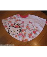Girls Hello Kitty t shirt 4 HK5201922 White HK Circle Top w/ Bow Back NW... - $11.76