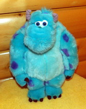 "Disney Monsters Inc 15"" Soft Super Plush Handsome Huggable Spotted Blue Sulley - $10.95"