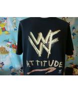 Vintage 90's WWF Attitude Wrestling T Shirt XL  - $39.59