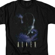 Alien t-shirt retro 70's 80's Sci-Fi horror film 100% cotton graphic tee TCF282 image 2