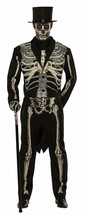 Pizazz! Men's Adult Dead Bones Costume, Black/White, XXLarge - $37.99