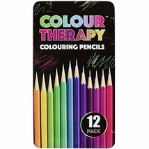 Colouring Pencils Professional Quality Colour Therapy Coloured Pencils B... - $3.25