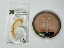 Wet n Wild Color Icon Bronzer with Unopened Velour Compact Puffs - $13.99