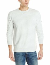 Nautica Men's Crew Neck Sweatshirt, Frost Heather, Medium $69 [13625] - $18.50