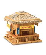 Birdhouse Hanging Wooden Beach Theme Bungalow  Bird House Snack Shack Bar - $28.59