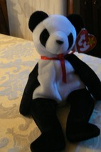 "Vintage Ty Beanie Babies Fortune "" The Panda Bear "" Hang Tag1997/Tush Ta... - $19.79"