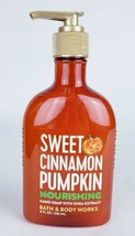 Bath & Body Works SWEET CINNAMON PUMPKIN Nourishing Hand Soap 8 fl oz New - $10.19