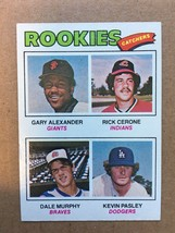 1977 Topps #476 Dale Murphy ROOKIE Baseball Card NM Condition Atlanta Br... - $19.99