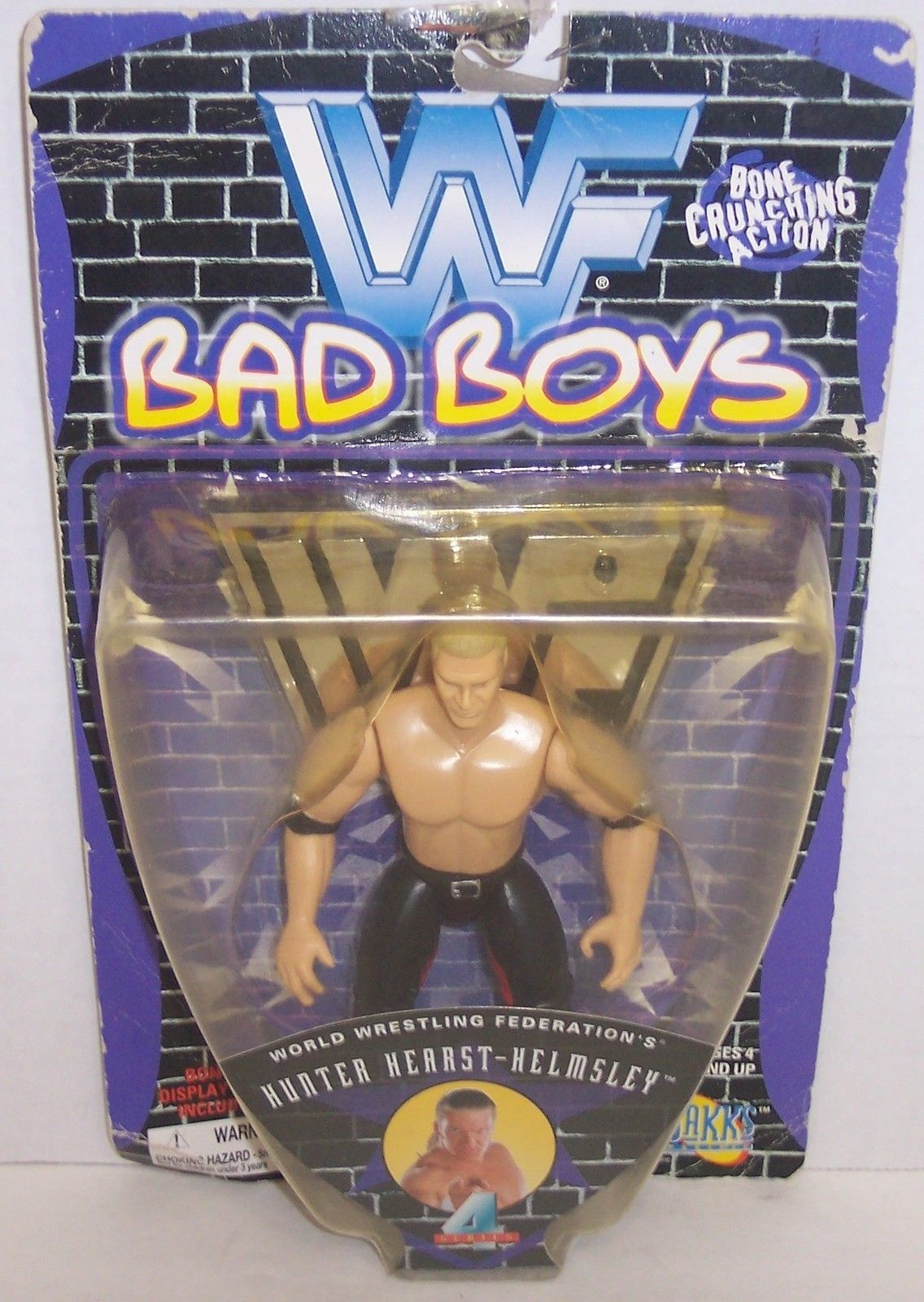 "Primary image for New! 1997 Jakk's Pacific WWF Bad Boys ""Triple H"" Action Figure WWE [903]"