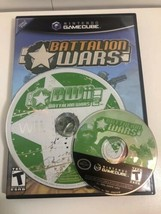 (2 game lot) Gamecube Wii Battalion Wars Bundle: 1 AND 2! Complete CIB! - $32.97