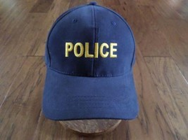 Police Public Safety Hat Ball Cap 100% Blue Cotton Twill Made By Propper - $11.99