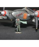 USAF Ground Support Crew 1:72 WW2 Pro Built Model #1 - $7.91