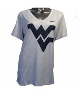 """West Virginia Mountaineers Nike Dri-Fit Women""""s Team Issue XL V-Neck T-S... - $31.50"""