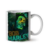 Bob Marley Weed Rasta NEW White Tea Coffee Mug 11 oz | Wellcoda - $15.99