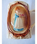 Sears Roebuck & Co. 1978 Collectible Mug Colonial Gingham Woman - $6.92