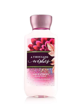 Bath & Body Works A THOUSAND WISHES Body Lotion 8 oz / 236 ml