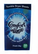 3 X 20 Comfort Intense Fresh Sky Tumble Dryer S... - $12.39