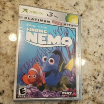Finding Nemo (Microsoft Xbox, 2003) GOOD COMPLETE! MAIL TOMORROW! DISC N... - $7.20