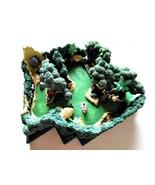 My Disneyland Adventureland Jungle cruise Diorama Figure Miniature Volta... - $64.35