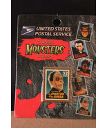 1997 USPS Classic Monsters Stamp Pin Pinback Lon Chaney Phantom of the O... - $6.41