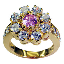resplendent Multi CZ Copper Multi Ring exporter L-1in US 5,6,7,8 - $9.99