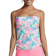 Arizona On Safari Palm Bandeaukini Swim Top Size M, L New $36.00 - $14.99