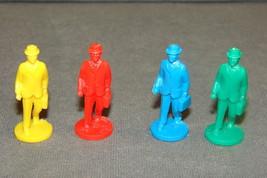 Cloak & Dagger Ideal 1984 Game Part: 4 Pawns Figures - $7.00