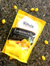 2-Pack Sconza Lemoncello Chocolate Almonds White Chocolate Lemon Cream 24oz FREE - $30.99