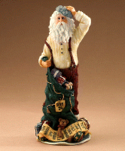 "Boyds Holiday Santa ""Poor Ol' Stressnick.. Running Out Of Time"" #28015 -... - $29.99"